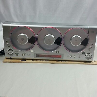 EMERSON MS3106 TRIPLE PLAY LINEAR AM FM 3 - CD  CHANGER PLAYER parts or repair