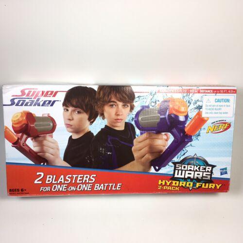 Nerf Super Soaker Hydro Fury 2-Pack Hasbro Water Blasters So