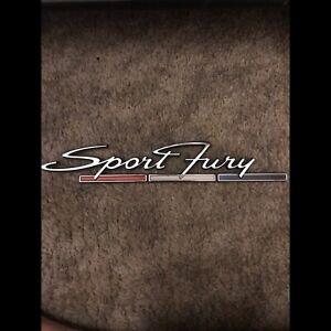 Sport Fury badge