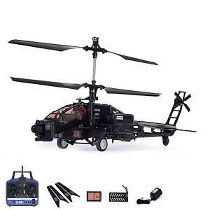 4 Kanal Apache AH-64 RC ferngesteuerter Hubschrauber Helikopter-Modell! Neu OVP!