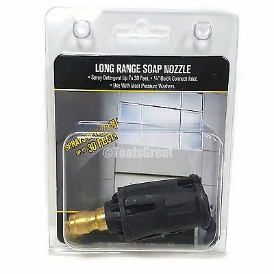 Be Quick Connect Long Range Pressure Washer Soap Nozzle Tip 14