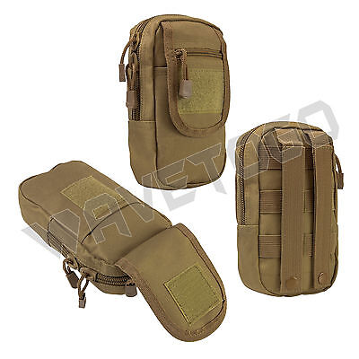 VISM NcSTAR Tactical Accessory MOLLE PALS Large Utility Storage Tool Pouch Tan