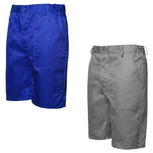 Arbeitsshorts Shorts kurze Arbeitshose Arbeitskleidung grau blau Gr.S - XXXL Neu