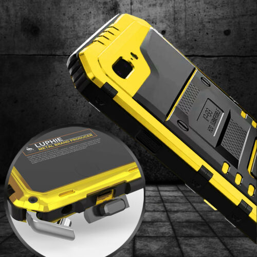 Waterproof Shockproof LUPHIE Aluminum Metal Case Cover for i