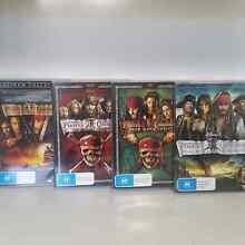 Pirates of the Carribean quadrilogy movie collection Woodbridge Swan Area Preview