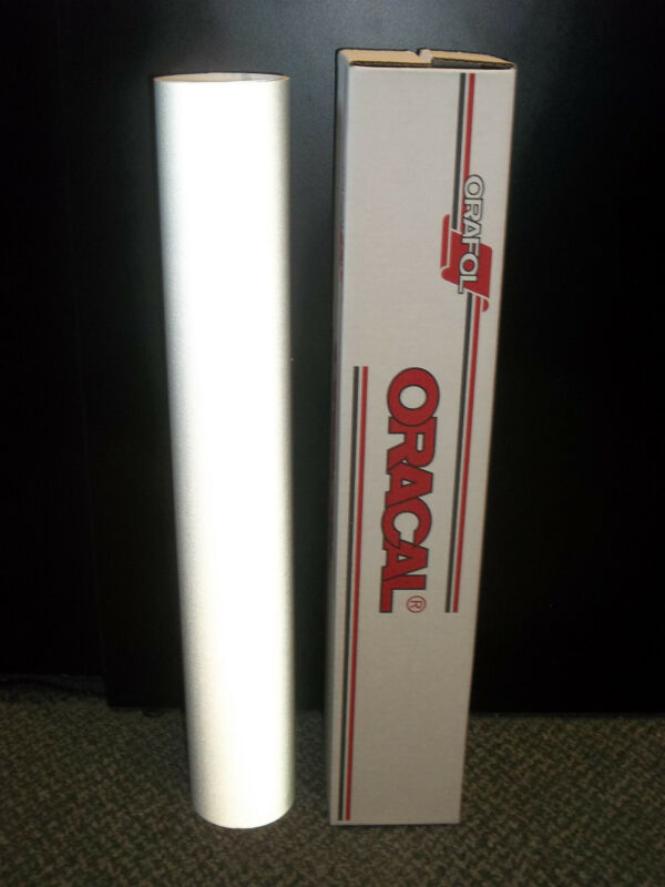 "Oracal 5500 Reflective White Sign Vinyl 24""x10ft 7 year Reflective!!!!"