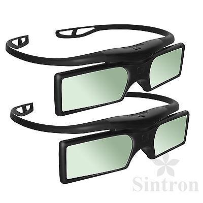 [Sintron] 2X 3D Aktive Brille für 2018 Panasonic 3D TV & TY-ER3D4MA TY-ER3D4ME