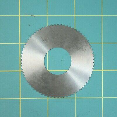 1one Slitting Slotting Saw Blade 0.0125 X 2-34 Hss Machinist Cutting Tool