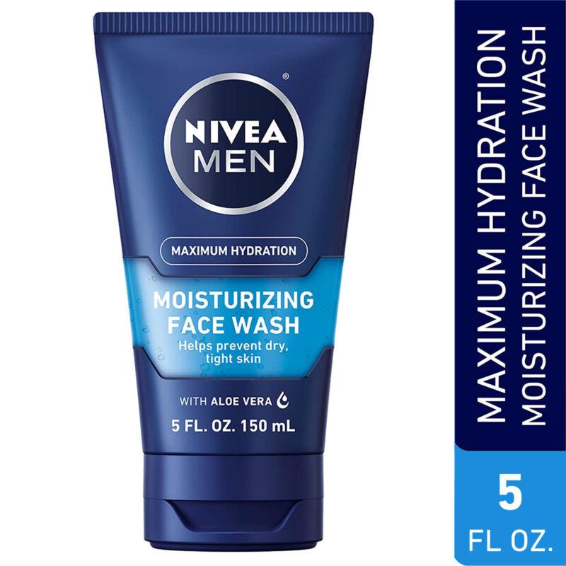 Nivea Men Maximum Hydration Moisturizing Face Wash - Helps P