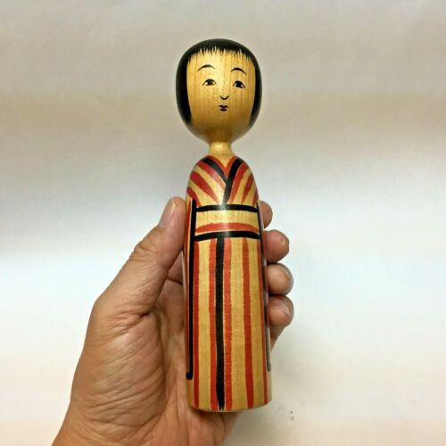 Recommended! 18.4cm Takahashi-Yuji (1934-)  Kokeshi Japan No.T58A