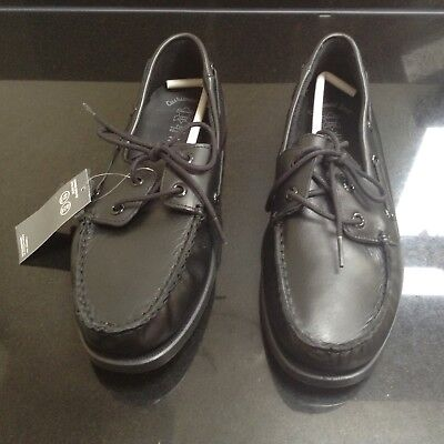 QUALITY FULL GRAIN LEATHER LOAFER LACE BLACK SHOES. SIZE 7. NEW WITH TAG Full Grain Leather Kids Shoes