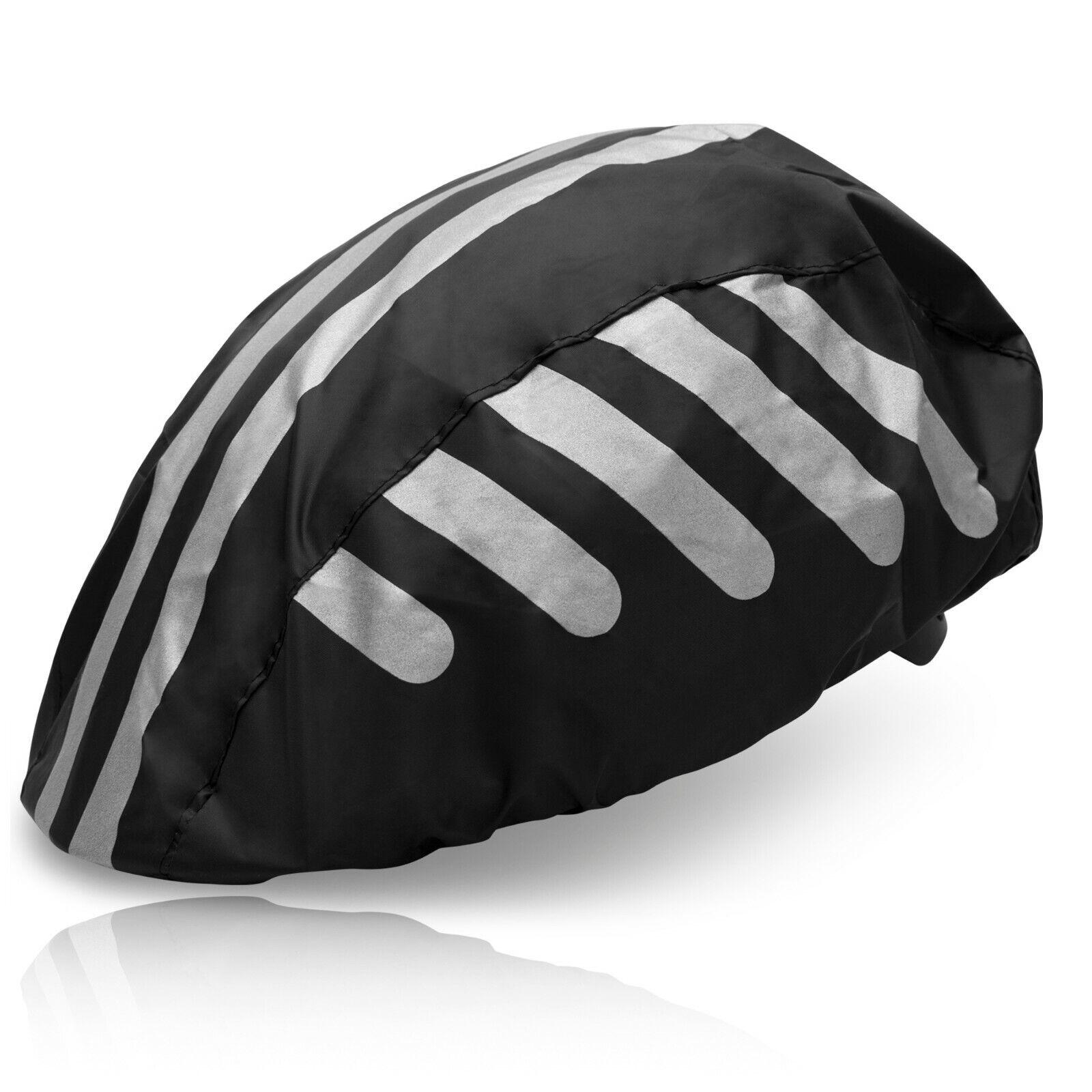 Regenschutz Helm Fahrradhelm Regenüberzug Schutzhelm Wasserdicht Abdeckung Neu