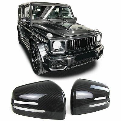 Carbon Spiegelkappen zum Austausch für Mercedes G Klasse W463 GL X166 GLE W166