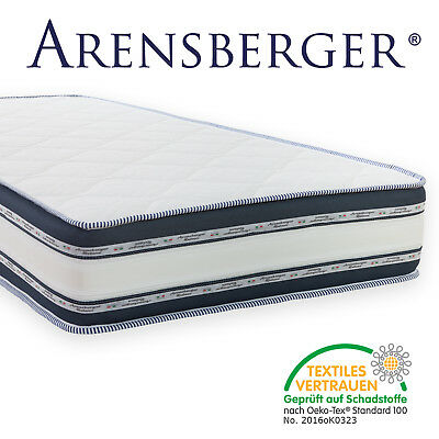 Arensberger Relaxx 9 Zonen Matratze 3D-Memory 140 x 200 cm Höhe 25cm RG50 Relax