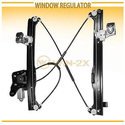 Rear Left Power Window Regulator w/ Motor Fit Chevy/GMC/Cadillac SUV & Crew Cab ()