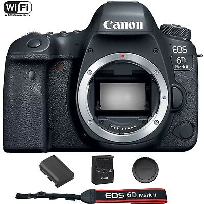 Canon Eos 6D Mark Ii   Mk 2 Digital Slr Camera  Body