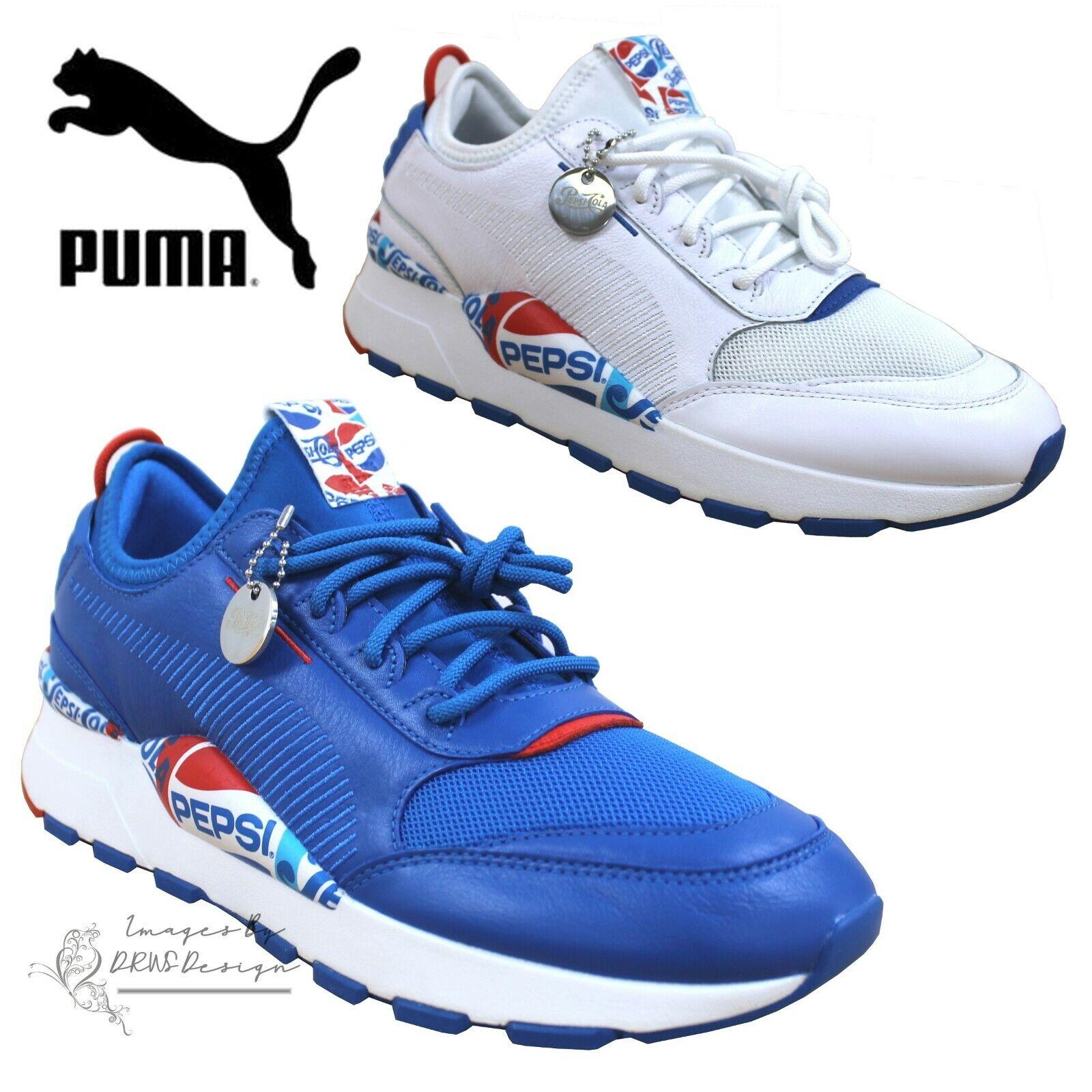patinar Enmarañarse su  PUMA x PEPSI MAX RS-0 Men's Trainers Retro Running Sneakers | eBay