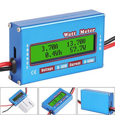 Digital Batterie Balancen Power Analyzer LCD Watt Meter DC RC 60V/100A Digital Balance