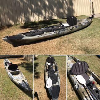 XFK4200 Glide fishing kayak