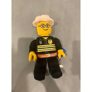 Lego Man Fireman Plush Toy Movable Arms 2010 Official Merchandise