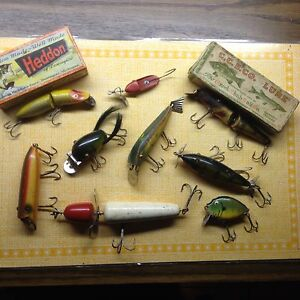 $$$ Paid for old/antique fishing lures
