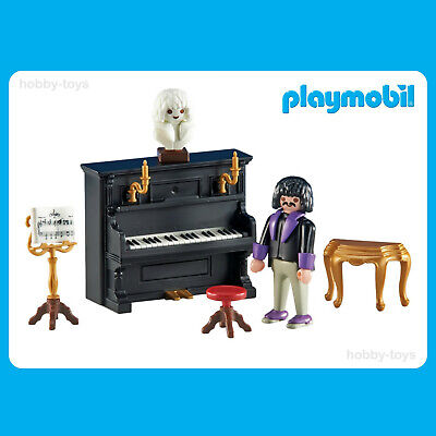 * Playmobil 6527 * Victorian Mansion / Piano & Pianist * Sealed in Bag * NEW *