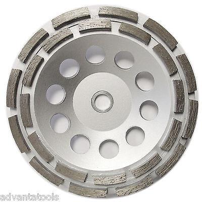 7 Double Row Diamond Cup Wheel For Concrete Stone Masonry Grinding 78-58