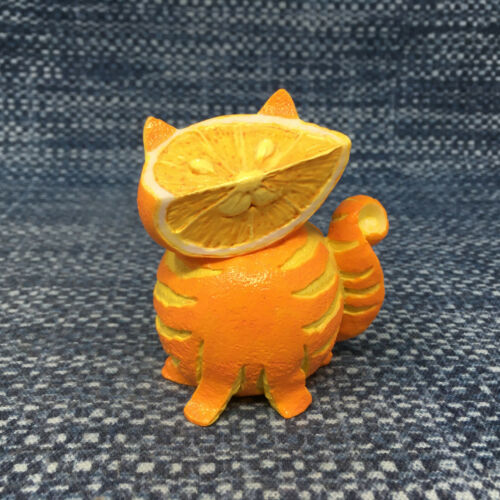 Home Grown by Enesco Orange Tabby Cat Collectible Figurine 4020990 Mint