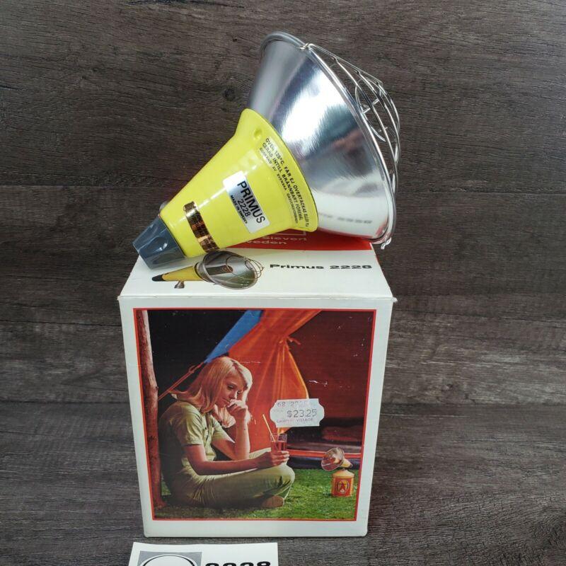Primus Explorer Camping Vintage Mini Heater 2228 Sweden Great Condition CIB