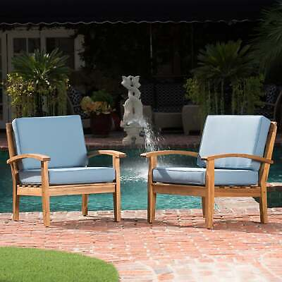 Peyton Outdoor Wooden Club Chair  by Christopher gray + dark