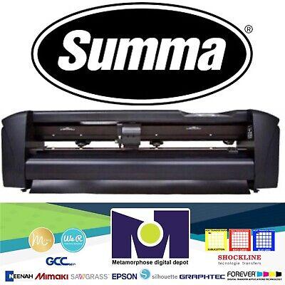 Heat Transfer Vinyl Cutter Summacut D60 R -2se 24 61 Cms Htv Cutting Plotter