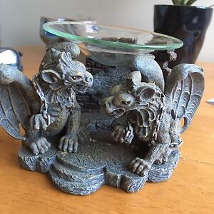 Gargoyle candle holder/ scent diffuser