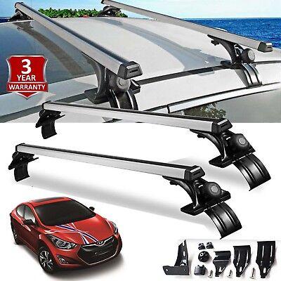 "For Hyundai Elantra Sonata Car Sedan Luggage Cross Bars Roof Rack Carrier 47"" US"