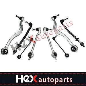 Front Steering Control Arm Suspension Kit Set for BMW E39 525i 528i 530i