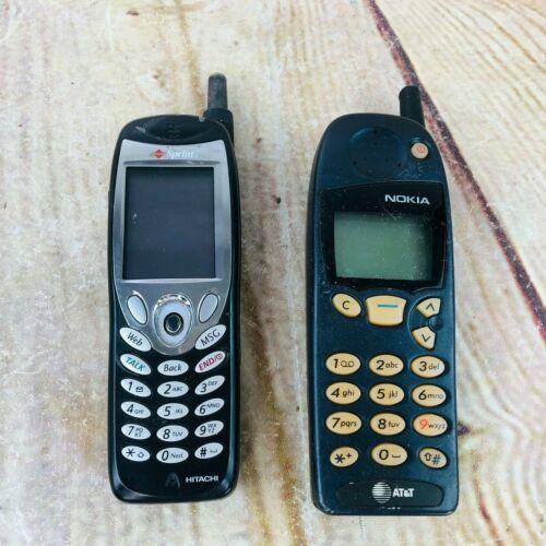 2 vtg  phones for parts