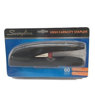 Swingline High-capacity Desk Stapler 60-sheet Capacity Black Dented Package New