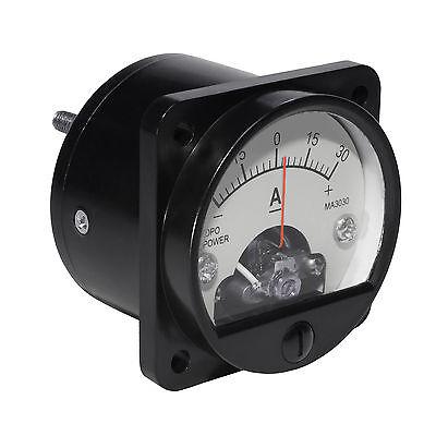-30-30 Amp Analog Panel Metergaugebattery Charge Monitorsolarwindmarine4wd