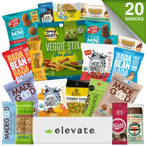 Healthy Snacks Gift Box For Loved Ones, Students, Clients, Gluten Free & Vegan!