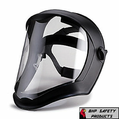 Grinding Face Shield - UVEX S8500 BIONIC DIELECTRIC SAFETY FACE SHIELD CLEAR Z87.1 GRINDING SANDING