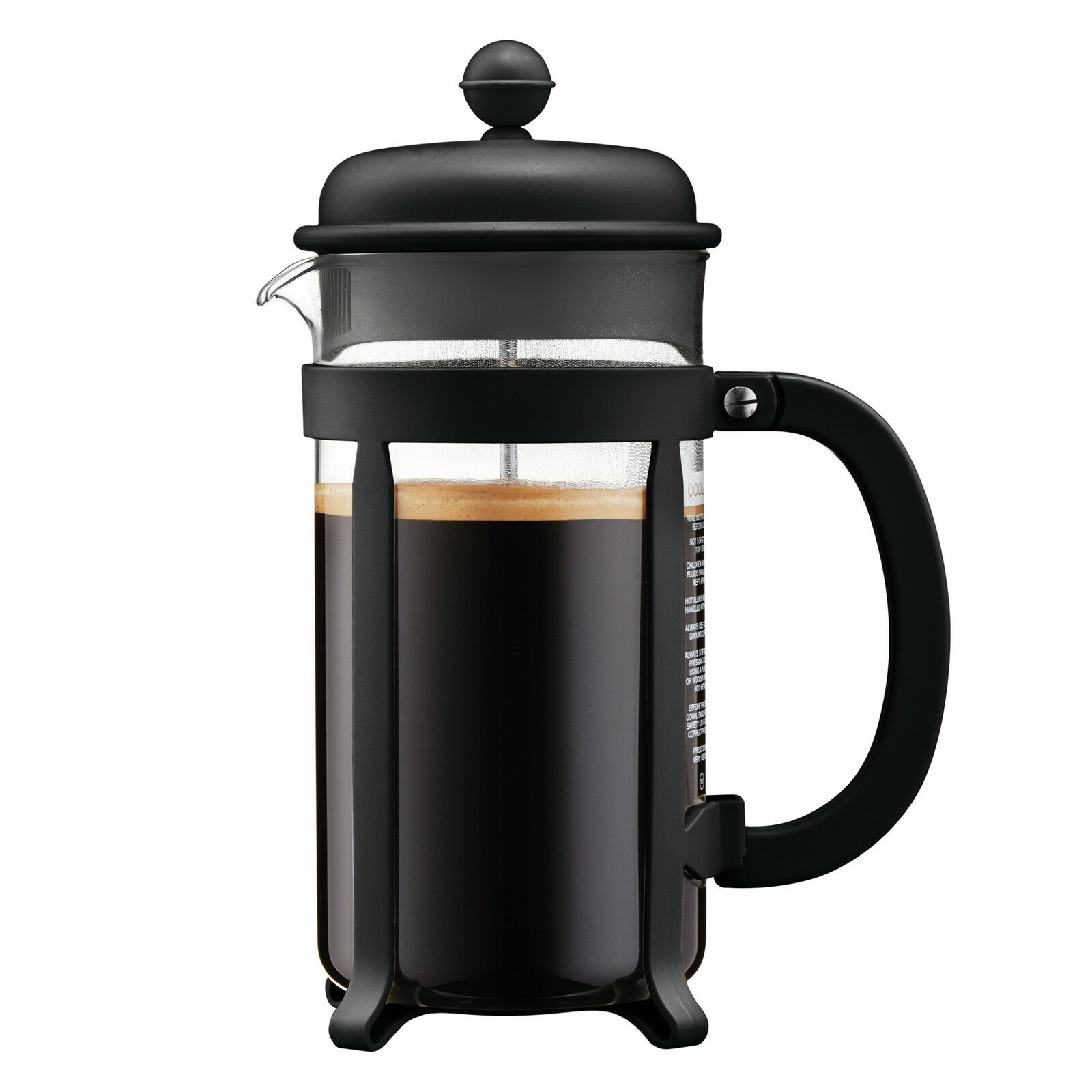 Bodum Java Coffee Maker French Press 3 Cup Unopened Red Brand New