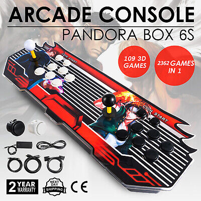 2362 in 1 3D Pandora's Box 7S Retro Classic Arcade Console Video Games HDMI USB