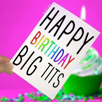 Happy Birthday Greeting Cards Rude Offensive Funny Best Friend Girlfriend