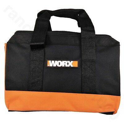 """WORX Zippered Multi purpose Tool Tote Bag Holder for tools 12""""L x 8""""H x 6""""W"""