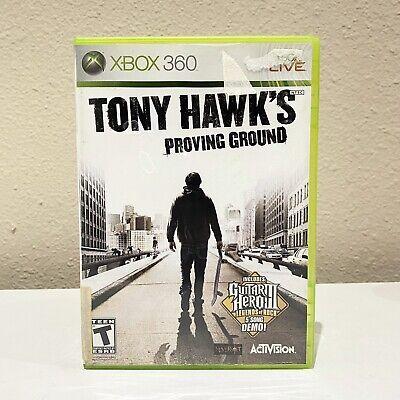 Tony Hawk's Proving Ground W/ Manual | Microsoft Xbox 360 | Tested