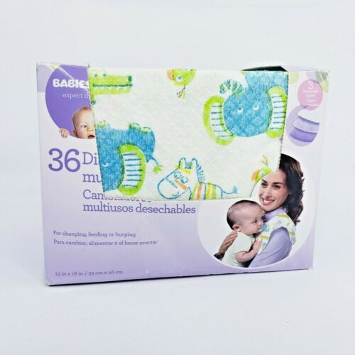 Babies R Us Safari Disposable Multi Use Pads 33 Pack