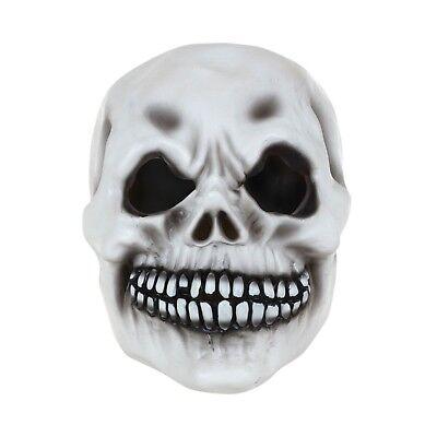 Esqueleto Blanco Máscara Calavera Halloween Terror Accesorio de Disfraz - De Halloween Esqueletos