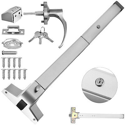 Door Push Bar With Handle Heavy Duty Panic Exit Device Hardware Latches Popular