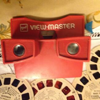 Vintage GAF VIEW- MASTER red made inUSA
