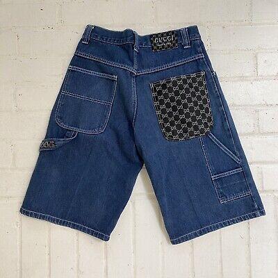 Vintage Bootleg Gucci Jean Shorts
