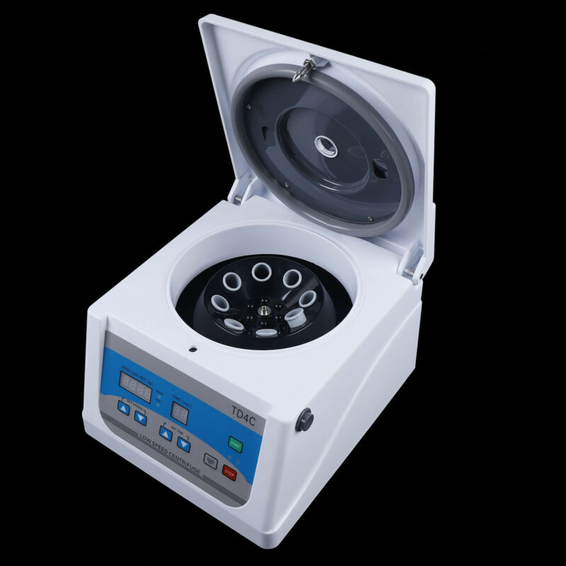 8*15ml PRP Centrifuge Medical Lab Low Speed Centrifuge Horizontal 4000r/min 110V
